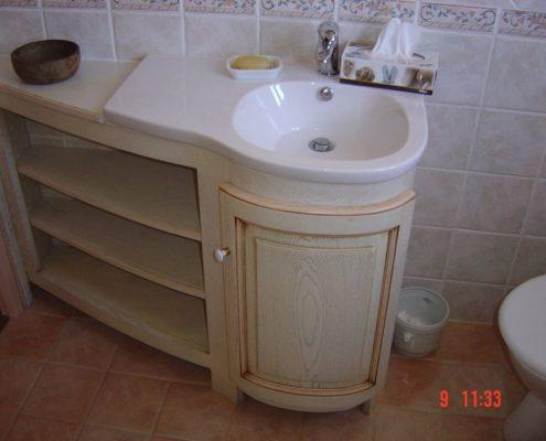 Salle de bain vintage Pont Saint Esprit